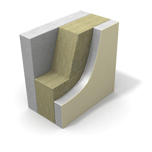 Concrete sandwich panel core