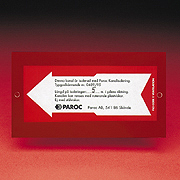 PAROC Marking Sign Image