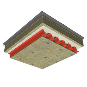 Fire protection of corrugated steel